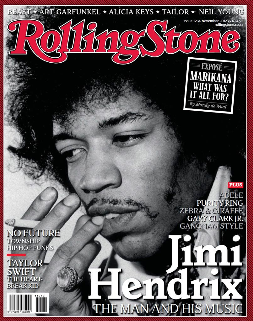 Rolling Stones Magazine - 2012 (November) front image (front cover)