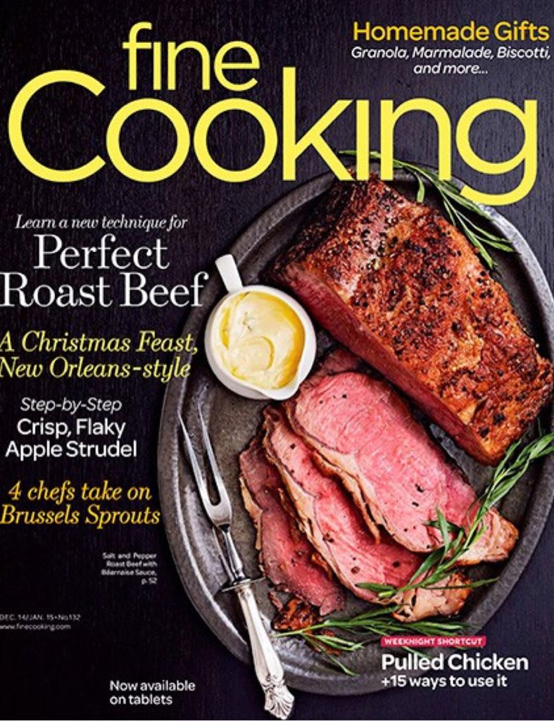 Fine cooking Magazine - 2015 front image (front cover)