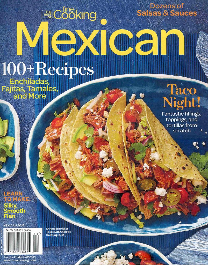 The Best Of Fine Cooking Magazine front image (front cover)