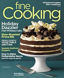 Fine Cooking Magazine front image (front cover)