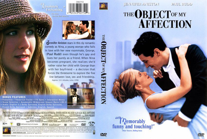 the object of my affection 1998 trailer