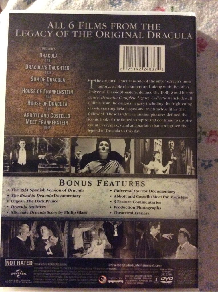 Dracula (Complete Legacy Collection) Movie - DVD (USA