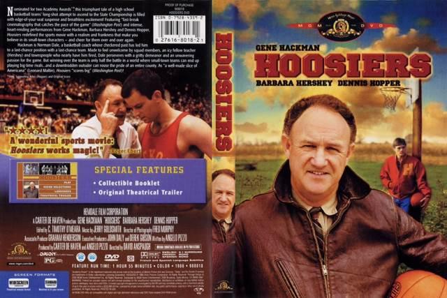 Hoosiers Movie - DVD (USA) - from Sort It Apps