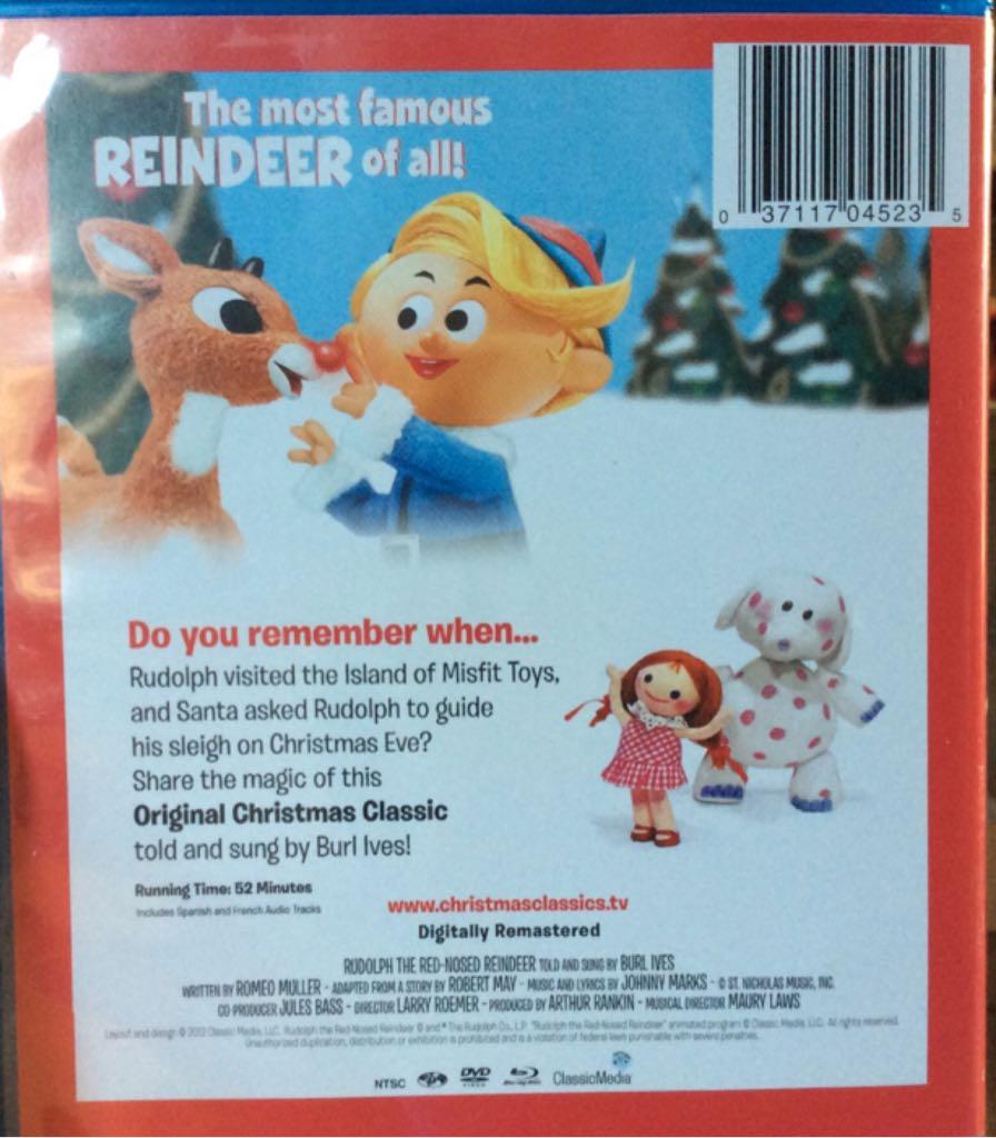 Rudolph The Red Nosed Reindeer Movie Blu Ray Dvd From Sort It Apps,Ina Garten Beef Tenderloin Mustard Sauce