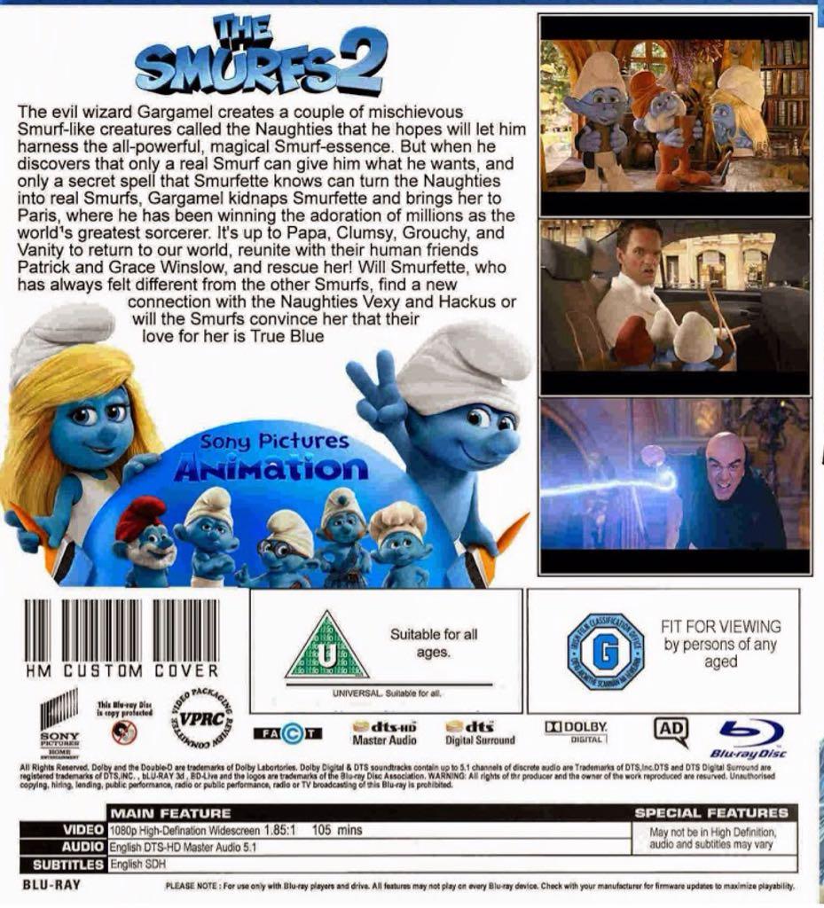 the smurfs 2 full movie english subtitles