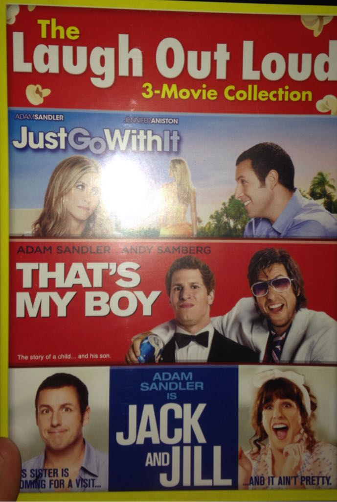 The Laugh Out Loud 3 Movie Collection Just Go With It That S My