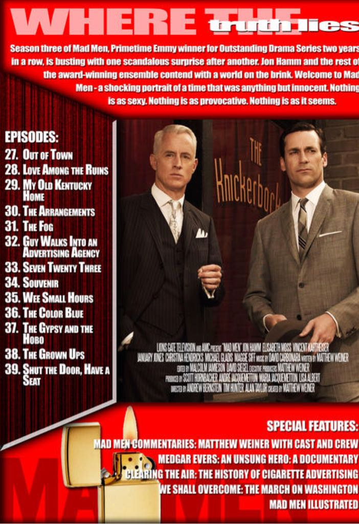 Mad Men Movie Dvd Canada From Sort It Apps