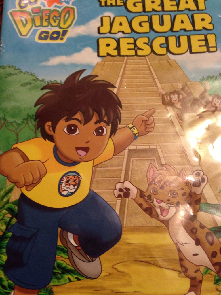 go diego go the great jaguar rescue