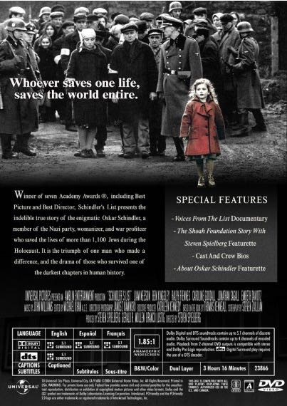 analysis about schindlers list An analysis of the compositional and orchestrational elements of john williams' theme from schindler's list.