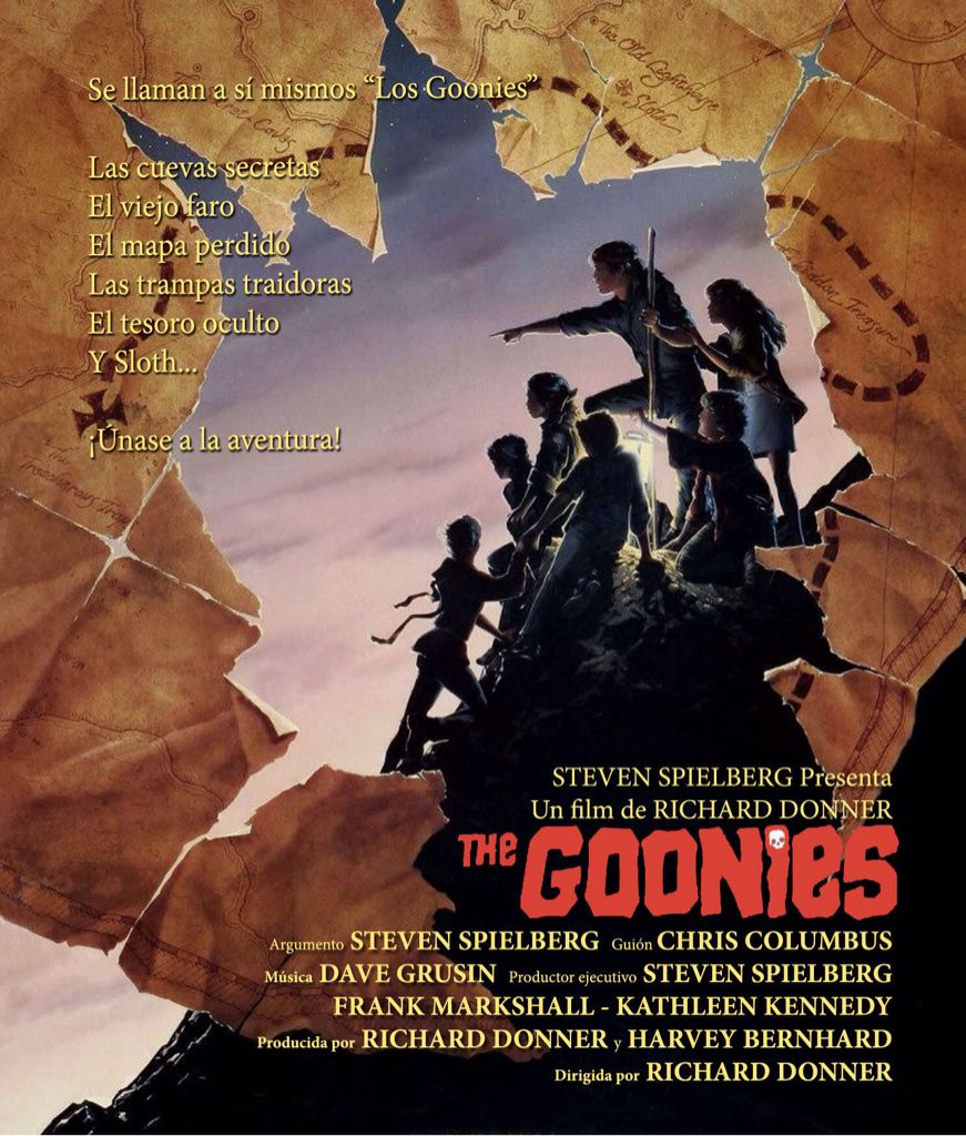 Goonies Movie - Blu-ray (USA) back image (back cover, second image)