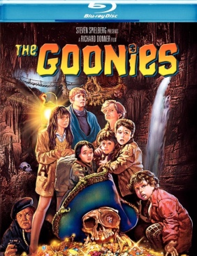 Goonies Movie - Blu-ray (USA) front image (front cover)