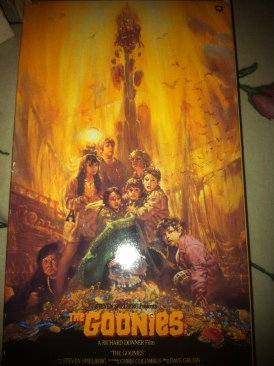 The Goonies Movie - VHS front image (front cover)