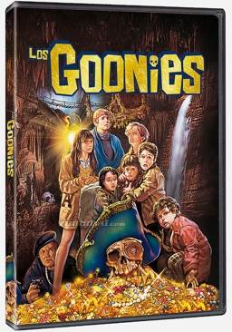 The Goonies Movie - DVD (Spain) front image (front cover)