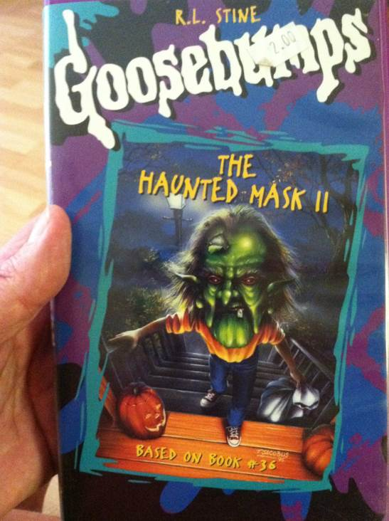 Goosebumps: The Haunted Mask 2 Movie - DVD - from Sort It Apps