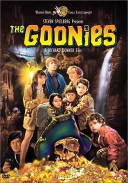 The Goonies Movie - DVD (USA) front image (front cover)