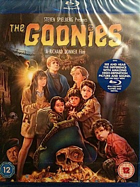The Goonies Movie - Blu-ray front image (front cover)