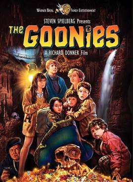 The Goonies Movie - Video CD front image (front cover)