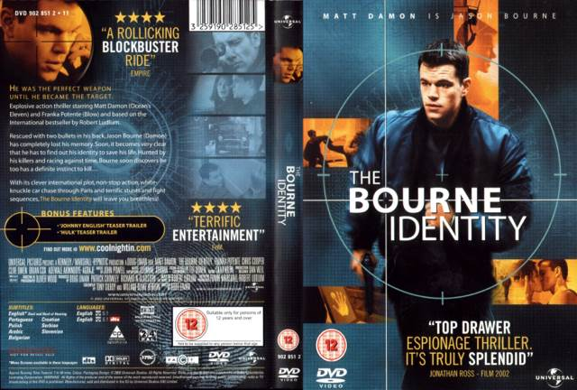 a comparison of the novel and movie the bourne identity 1980 – year that the robert ludlum novel the bourne identity (for comparison, the similarly quick bourne they know more about the bourne movies.