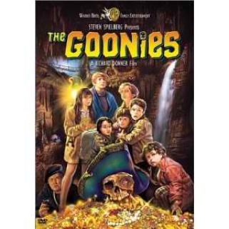 The Goonies Movie - DVD front image (front cover)