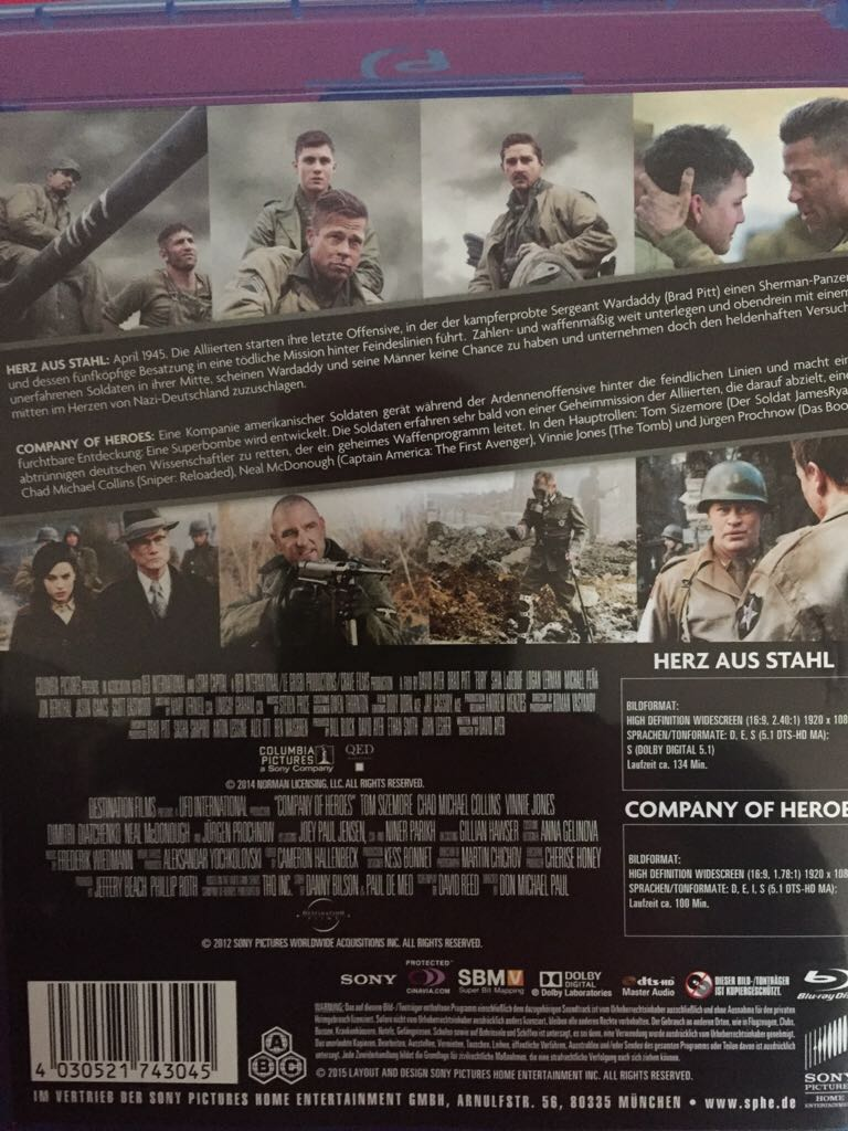 Herz Aus Stahl Company Of Heroes Movie Blu Ray From Sort It Apps
