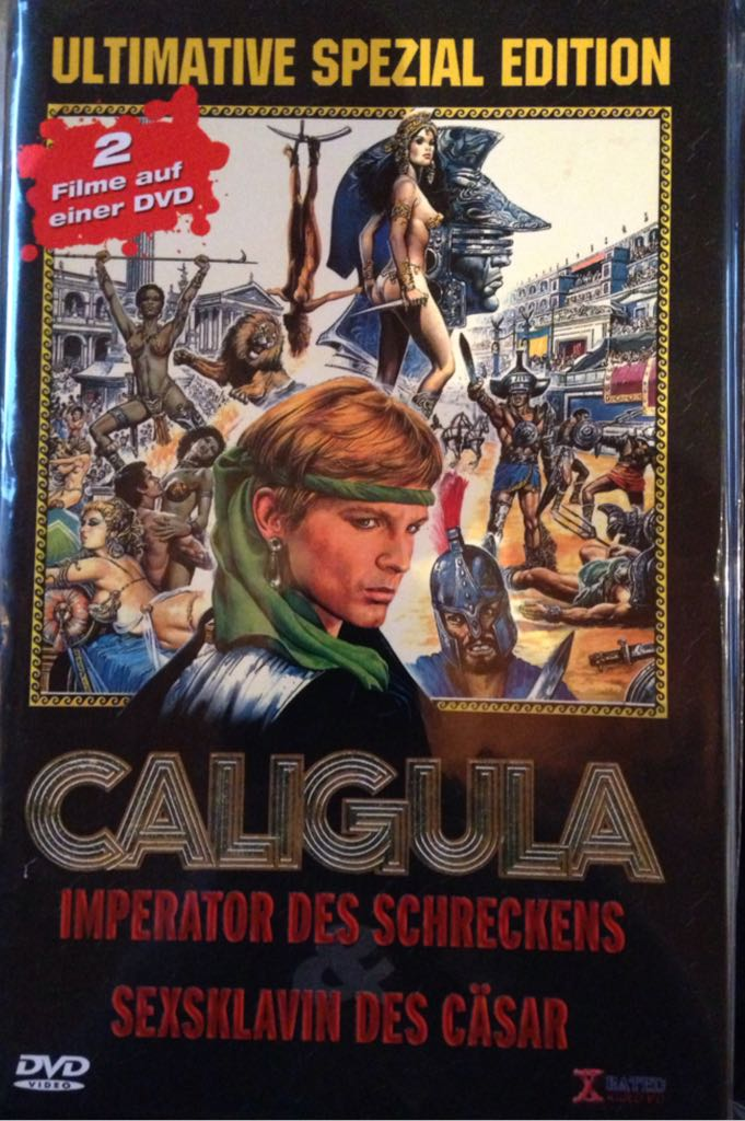 Caligula 3 Imperator Des Schreckens Movie Dvd Germany Front Image Front