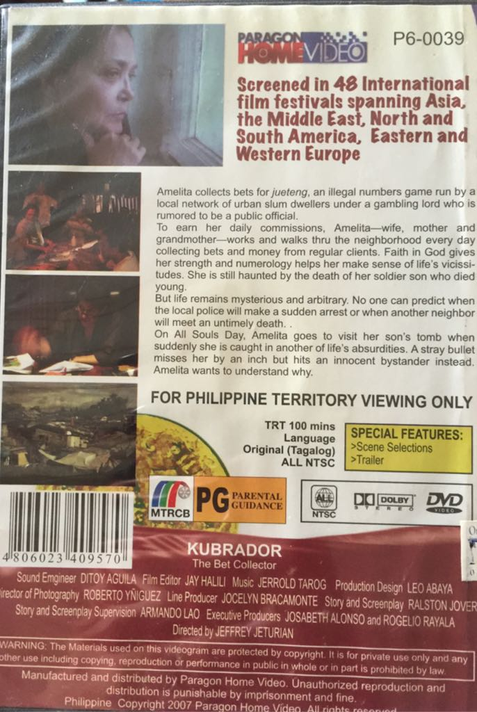 Kubrador Movie - DVD (Philippines) - from Sort It Apps