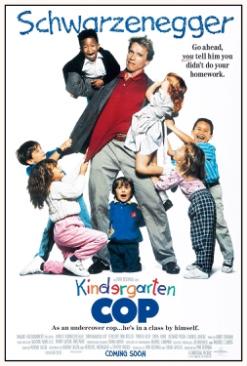 Kindergarten Cop Movie - DVD (Canada) front image (front cover)