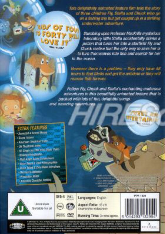 Help i 39 m a fish movie dvd usa from sort it apps for Help i ma fish