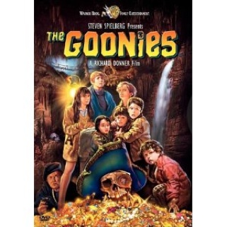 The Goonies Movie - DVD (Sweden) front image (front cover)