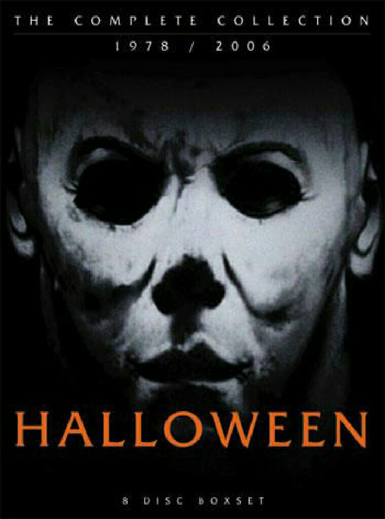 halloween the complete collection 19782006 movie dvd front image front cover