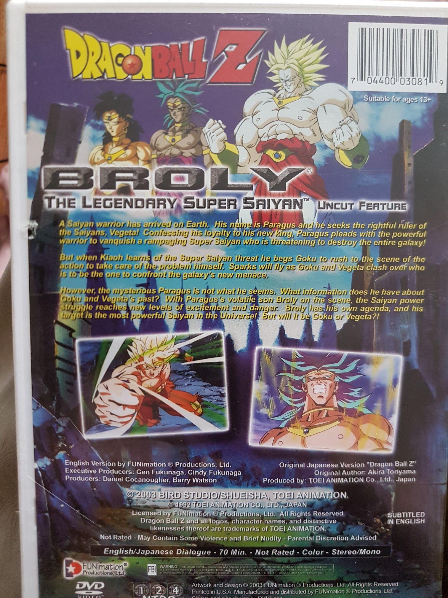 Dragon Ball Z Movie 8