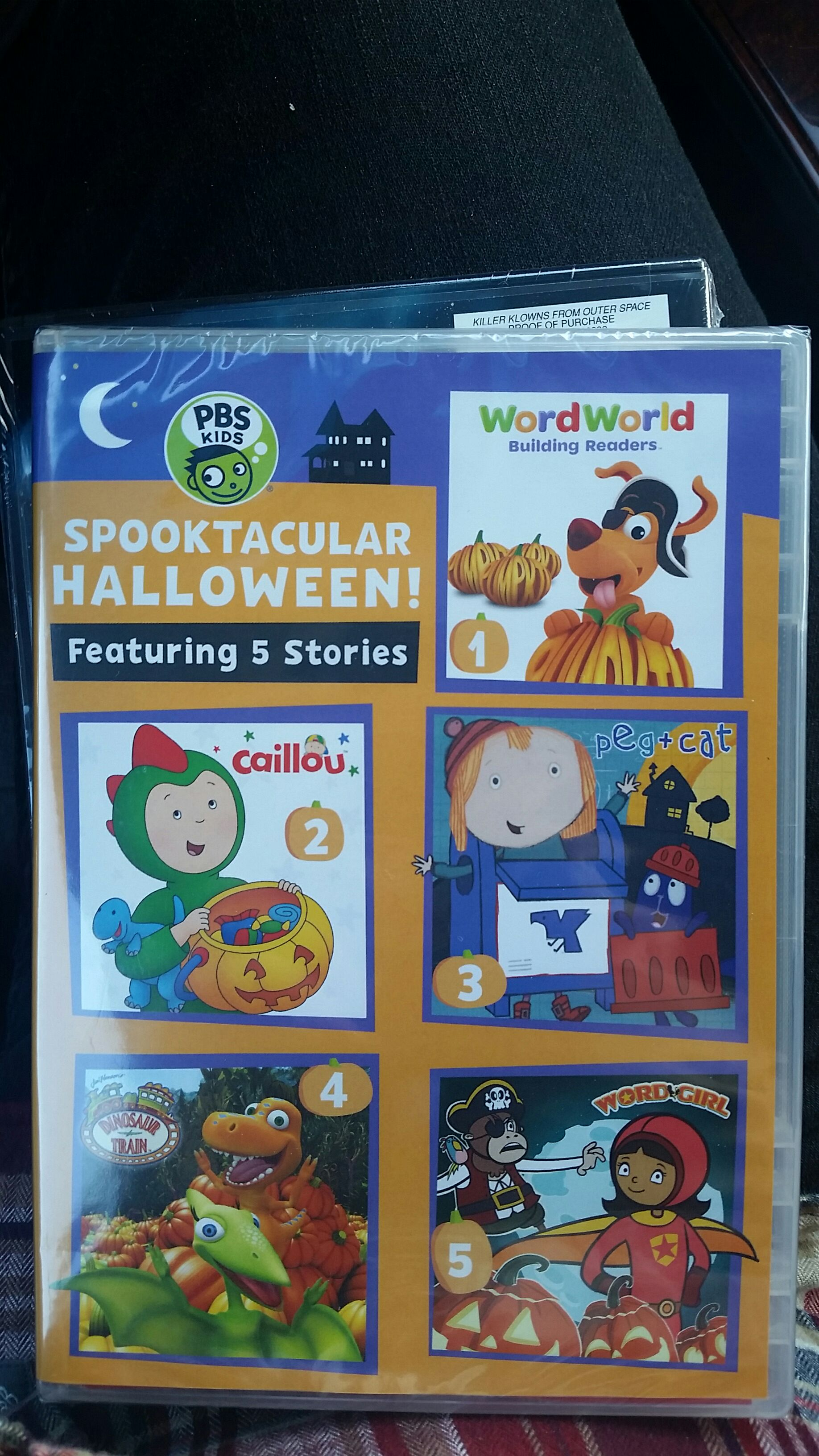 Pbs Kids Halloween Dvd.Pbs Kids Spooktacular Halloween Movie Dvd From Sort It Apps