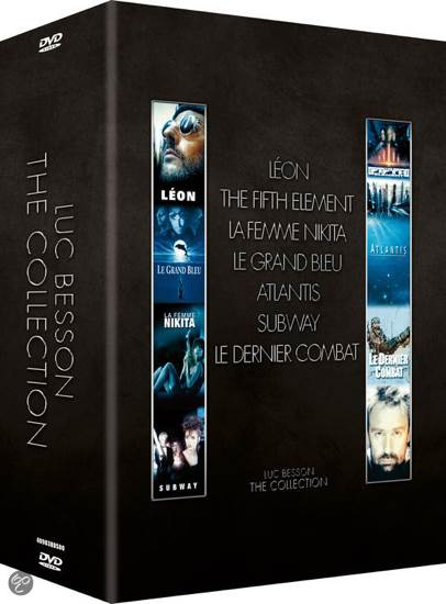 Luc Besson  The Collection Movie - DVD - from Sort It Apps