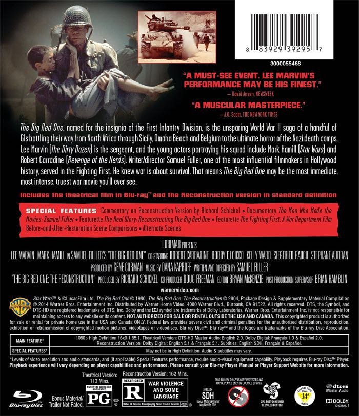 the big red one essay Find great deals on ebay for the big red one dvd and electra glide dvd shop with confidence.