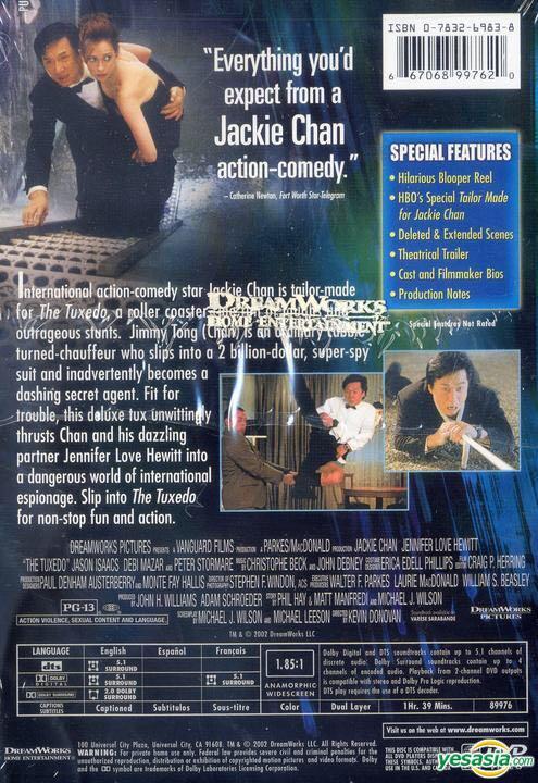 jackie chan tuxedo full movie english