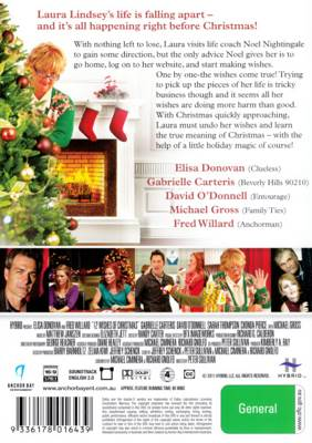 12 wishes of christmas movie dvd back image back cover second image - 12 Wishes Of Christmas