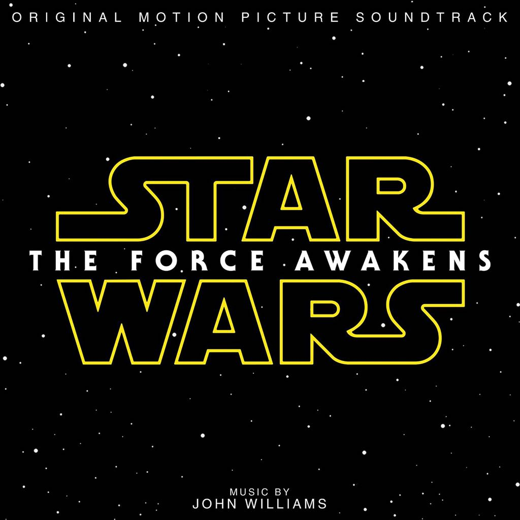 Star Wars: Episode VII - The Force Awakens Music - Williams, John front image (front cover)