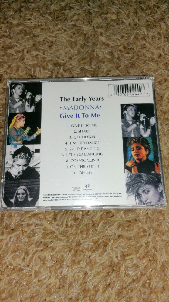 Early Years: Give It to Me Music - Madonna - from Sort It Apps