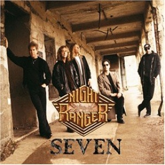 Seven Music - Night Ranger (CD) front image (front cover)