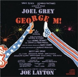George M! Music - Original Broadway Cast (CD) front image (front cover)