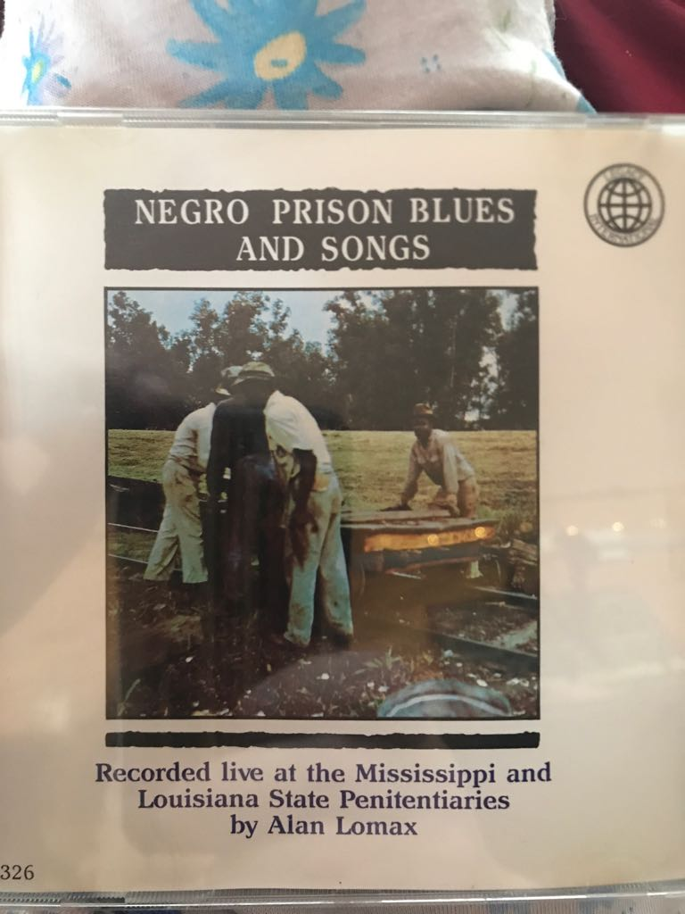 Negro Prison Blues Music front image (front cover)