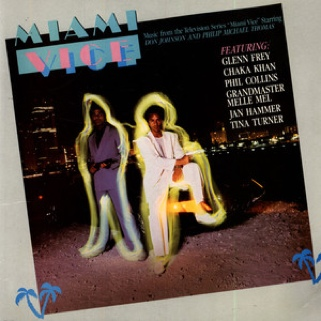"Miami Vice - Music from the Television Series Music - Various (12"" 33 1/3 rpm Record) front image (front cover)"