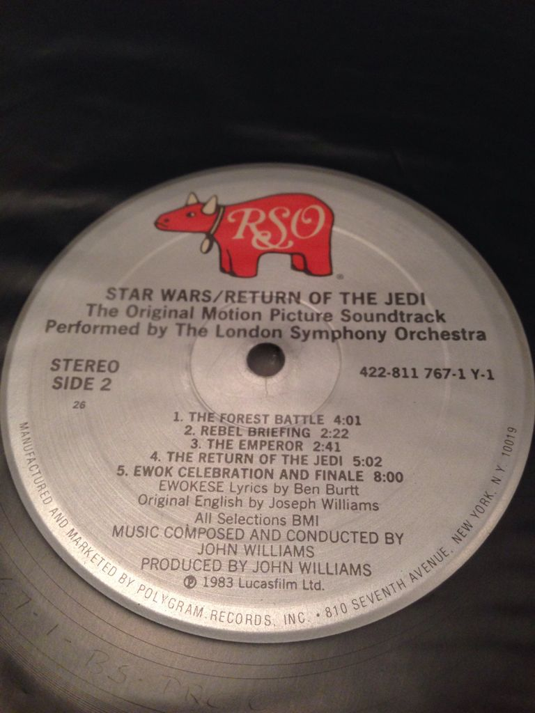 Star Wars: Episode VI - Return Of The Jedi Music - Williams, John (CD) back image (back cover, second image)