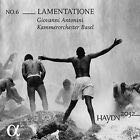 Lamentatione Music - Antonini (CD) front image (front cover)