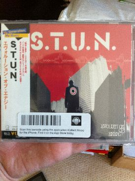Evolution of Energy Music - S.T.U.N. (CD) front image (front cover)