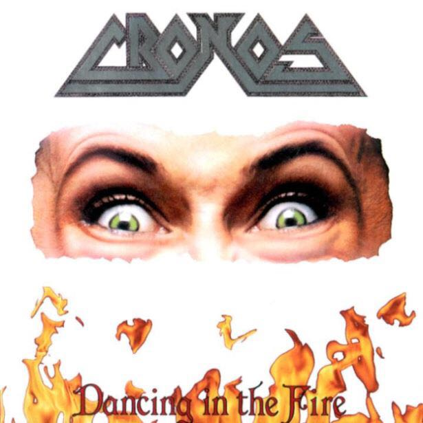 "Dancing In The Fire Music - Cronos (12"") front image (front cover)"