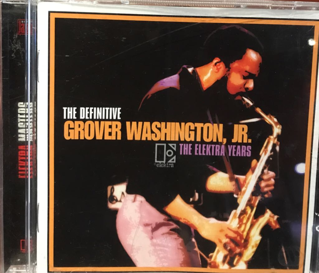 The Electra Years Music - Grover Washington Jr (CD) front image (front cover)