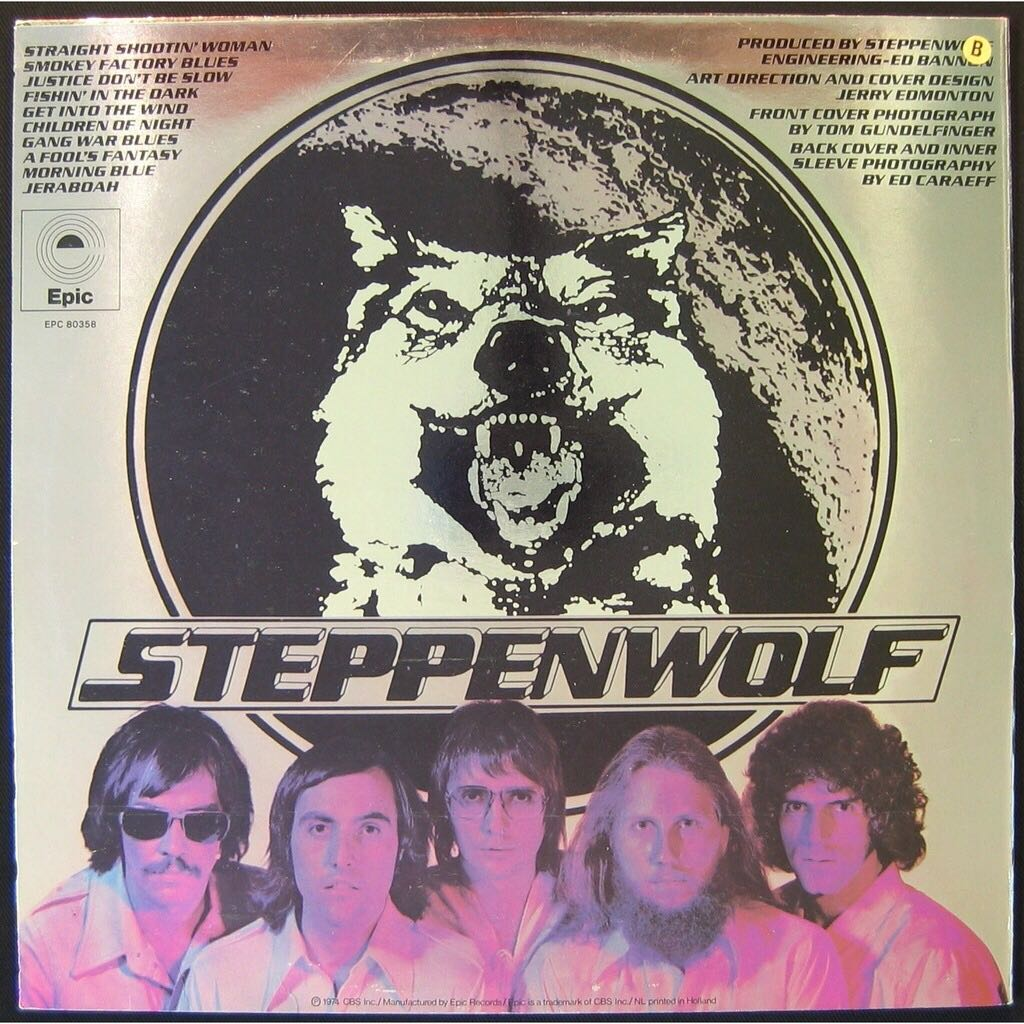Slow Flux (Austria) Music - Steppenwolf (CD) back image (back cover, second image)