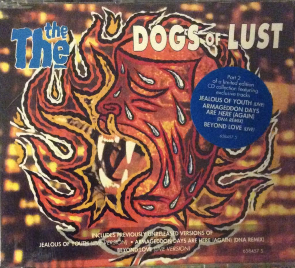 Dogs Of Lust Music - The The (CD) front image (front cover)