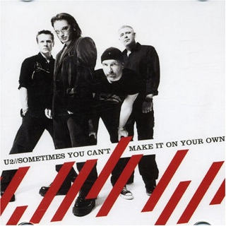 Sometimes You Can't Make It On Your Own Pt.1 Music - U2 (CD) front image (front cover)